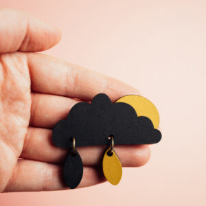 BlackClouds-Sun-brooch