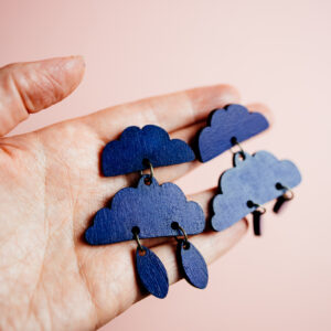 BlueClouds-earrings