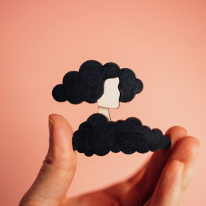 Cloudette-brooch